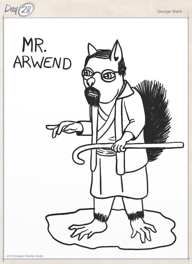 Mr. Arwend