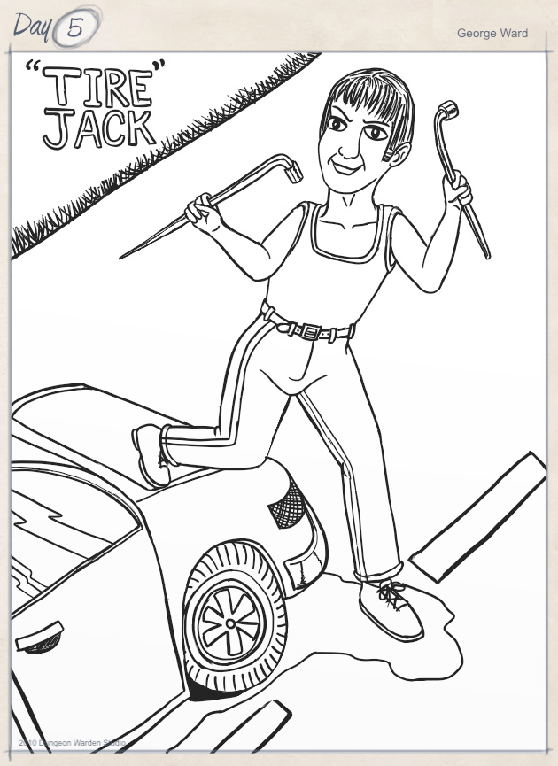 Day 5 - Tire Jack