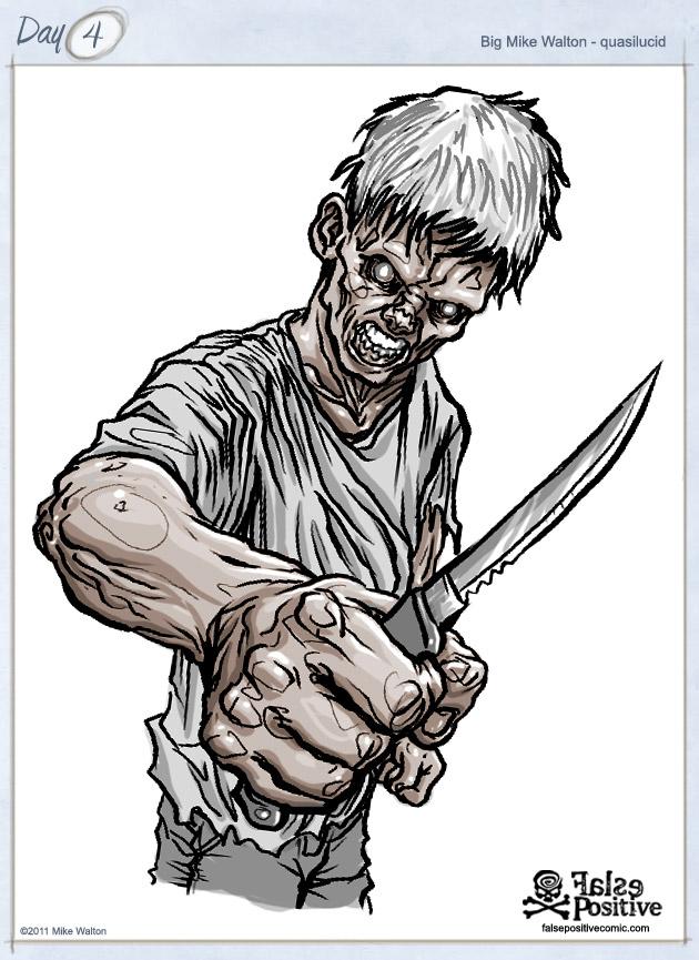 quasilucid zombie