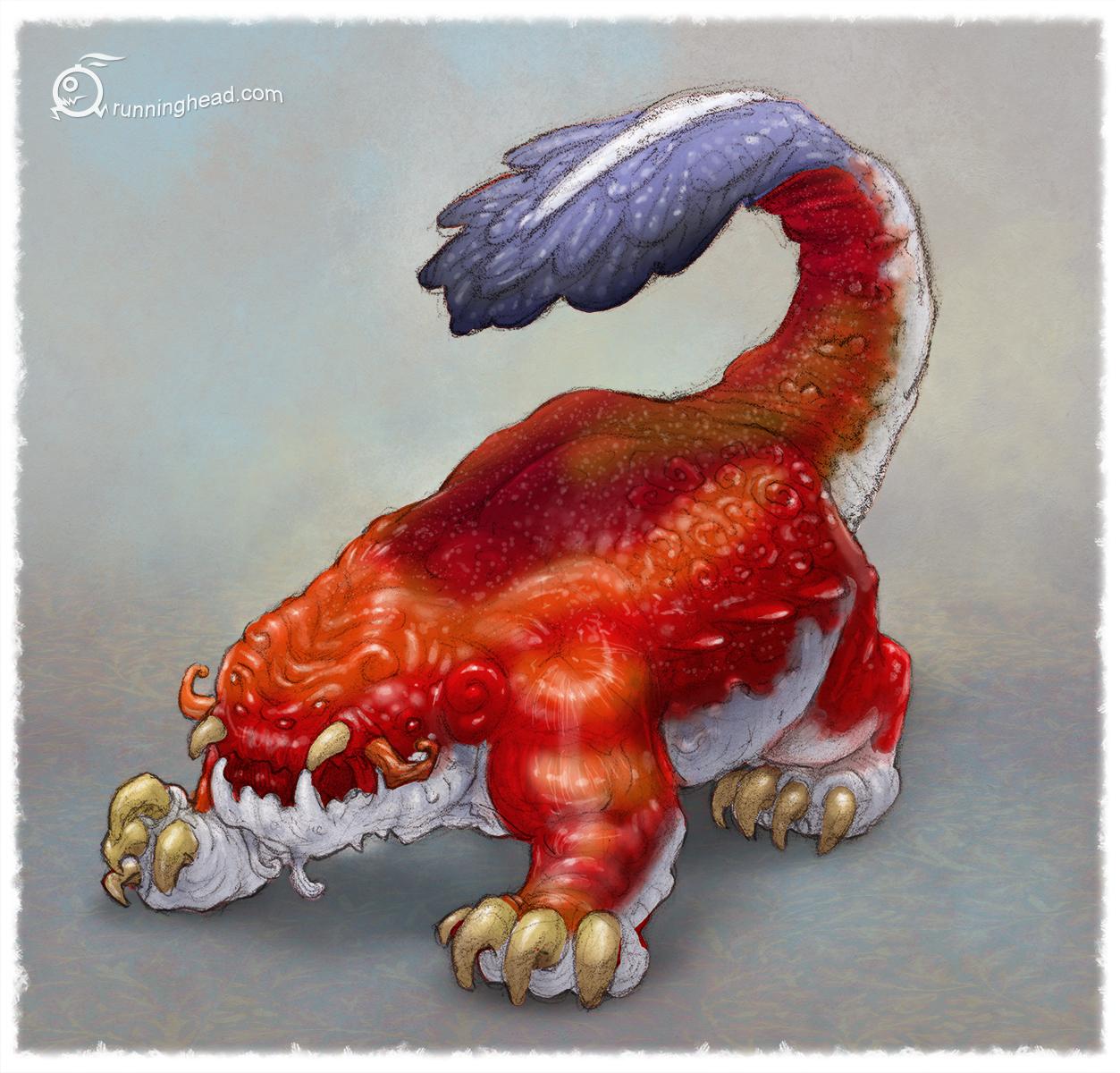 patterned beast