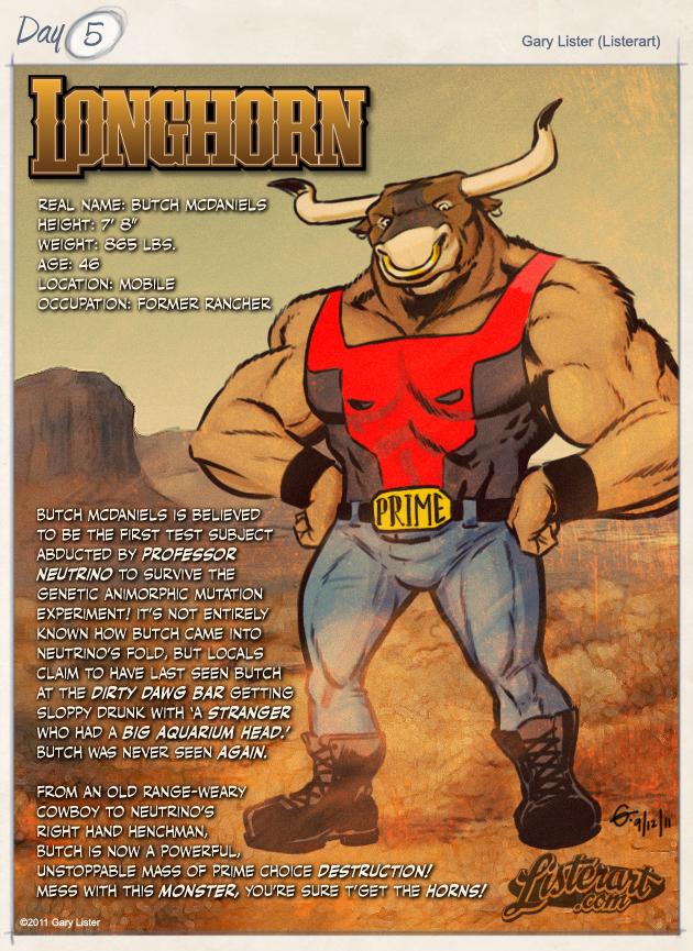 #5 - Longhorn
