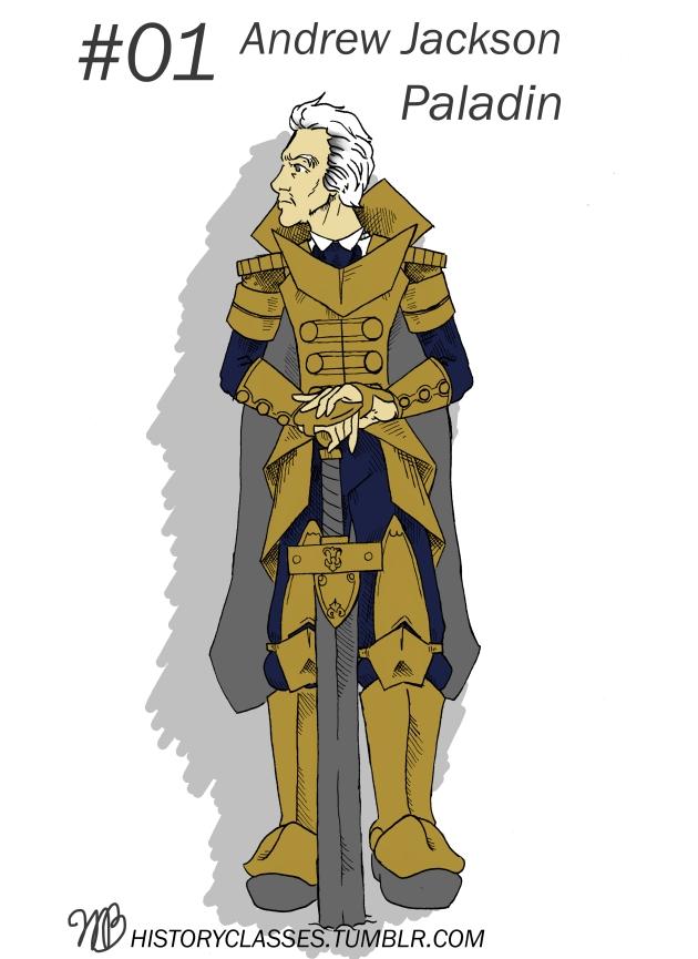 Andrew Jackson - Paladin