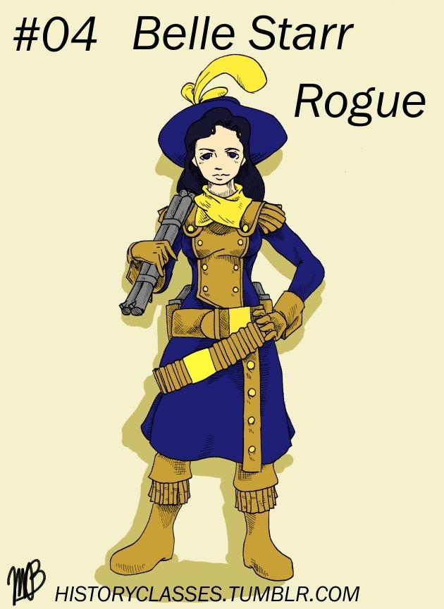 Belle Starr - Rogue