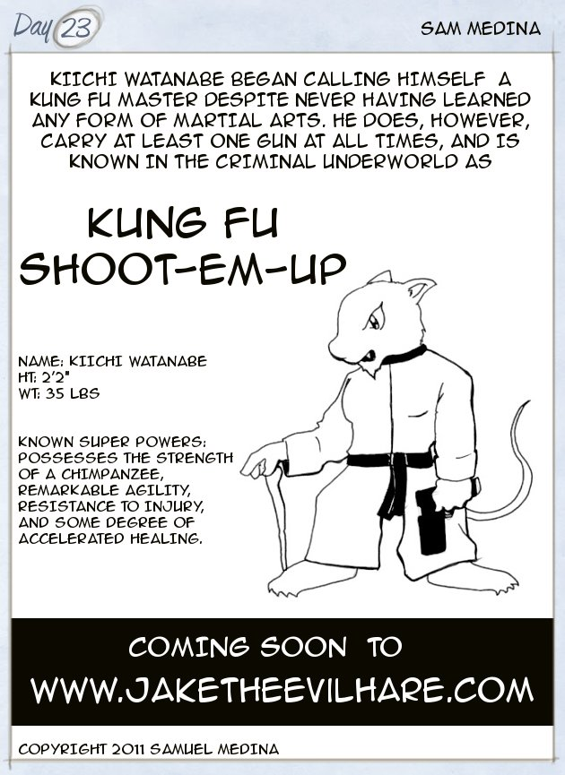 Kung Fu Shoot-em-up