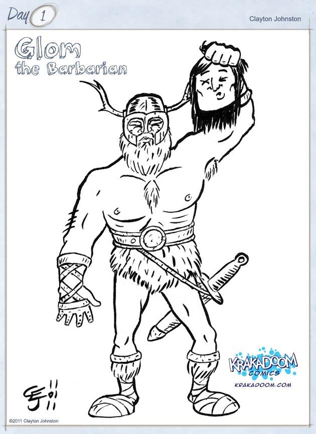 Glom the Barbarian