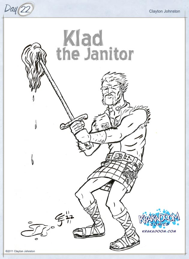 Klad the Janitor