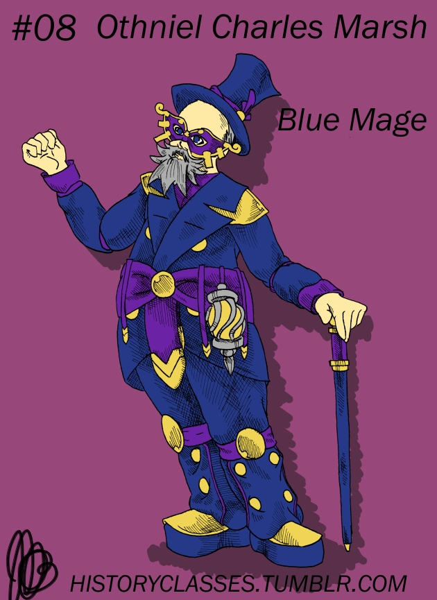 Othniel Charles Marsh - Blue Mage