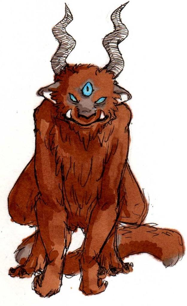 A Grumpy Monster