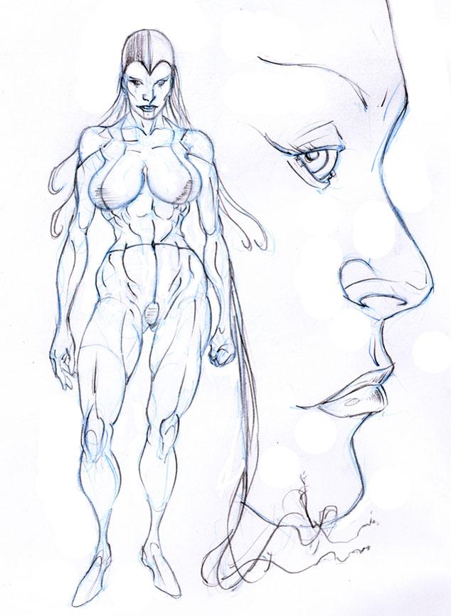 Femme, cyborg