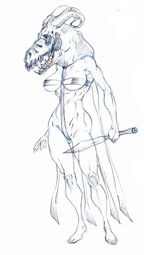 Mogen priestess