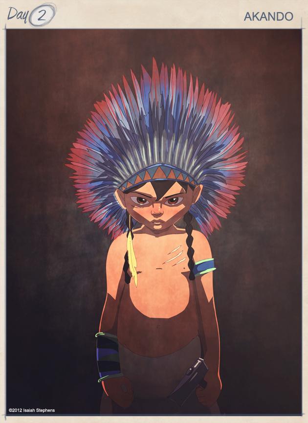 "Akando ""The Boy Warrior"""