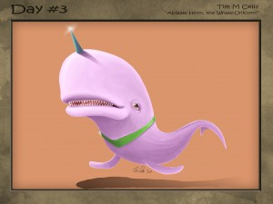 #03 Abigail Horn the Whale Unicorn