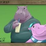 #13 Harold & Henry the Hippopotamuses