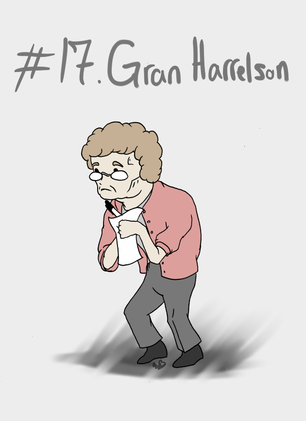 17 - Gran Harrelson
