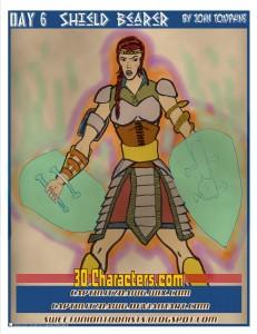30 characters  6 shield bearer ready