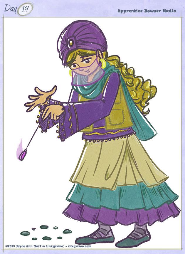 Joyce Ann Martin - 19: Apprentice Dowser Nadia