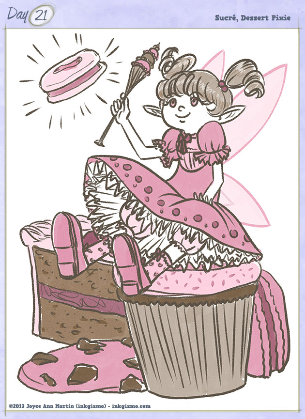 Joyce Ann Martin - 21: Sucré, Dessert Pixie