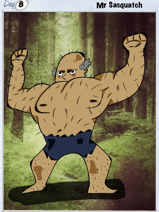 Day-8-Mr-Sasquatch