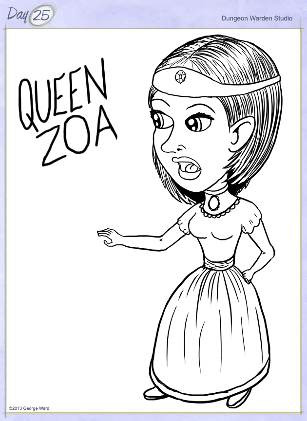 Day25-QueenZoa