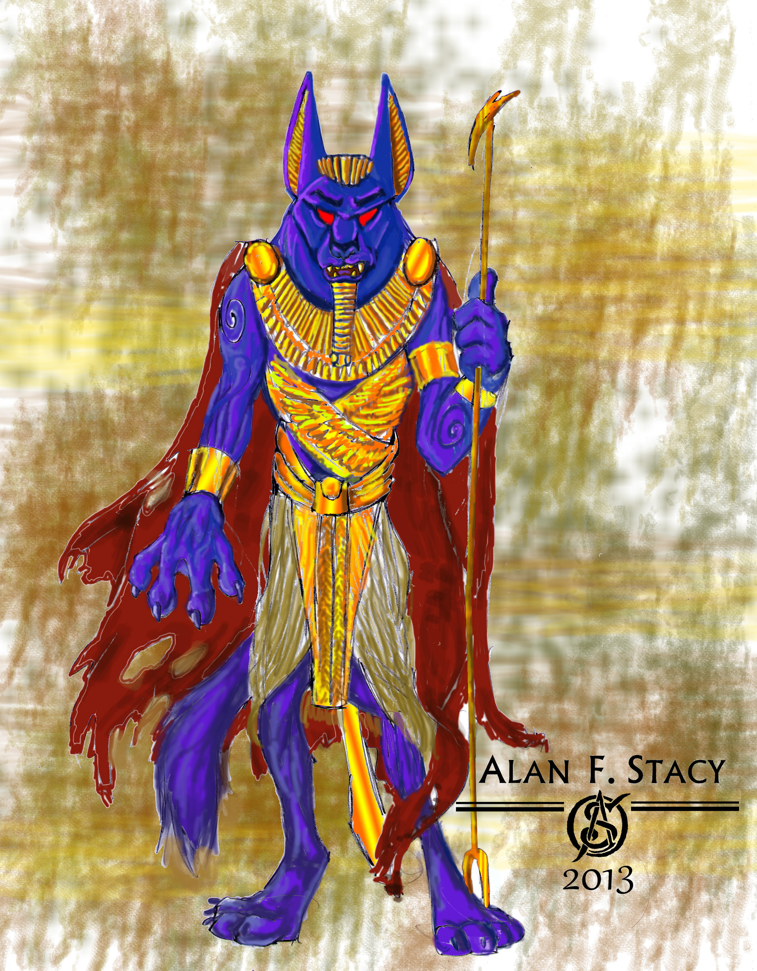 day 12 - Anubis rising FINAL