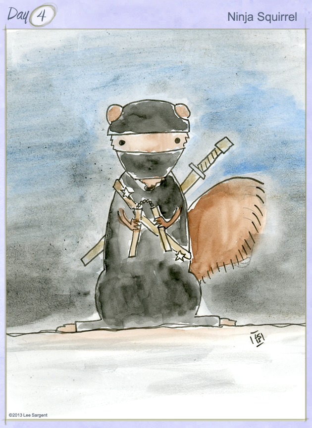 Ninja Squirrel