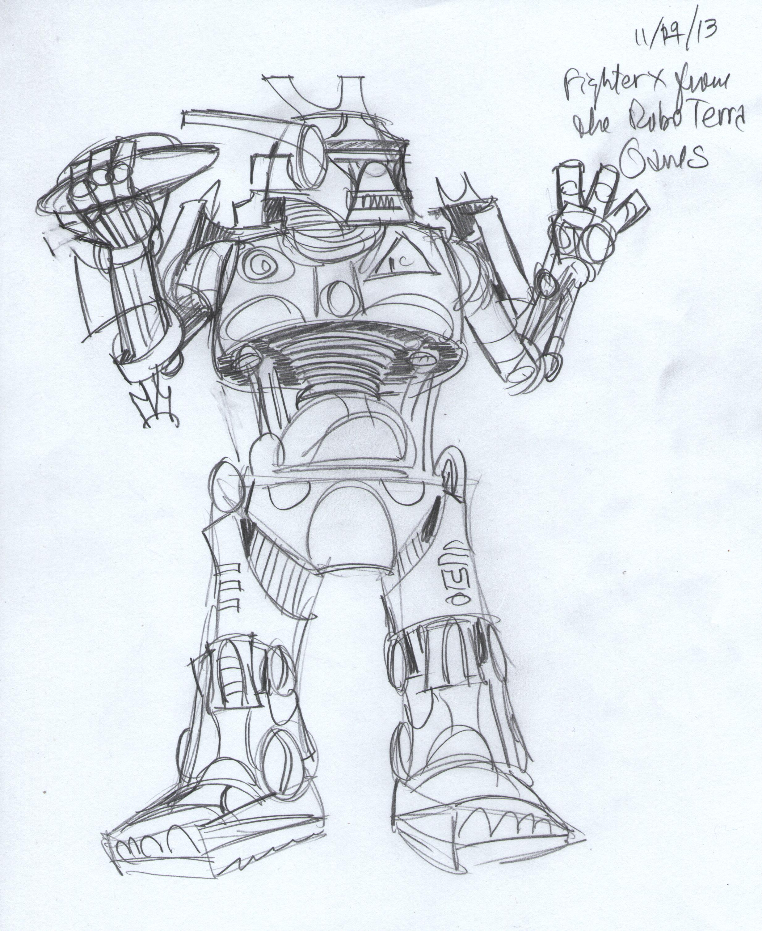 day 23 - Fighter X RoboGames 001