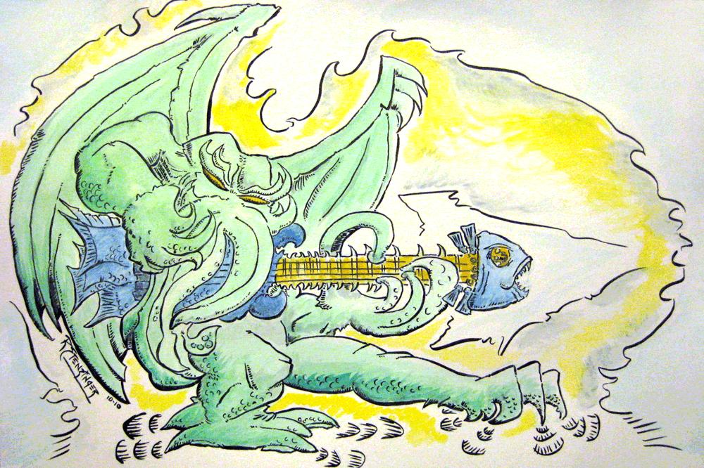 Cthulhu - Deep Sea Bassist