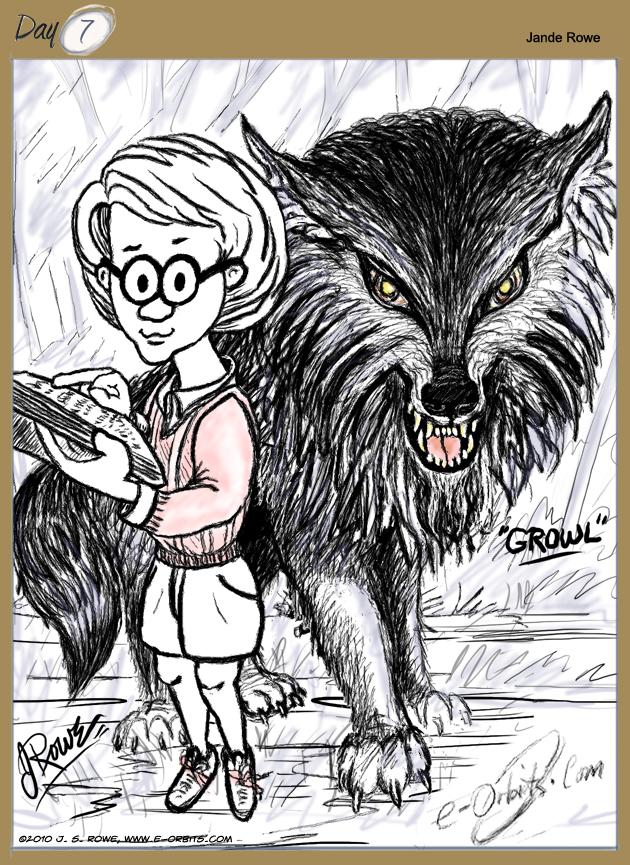 #07 Growl, (#6) Rain's Dog, by Jande Rowe