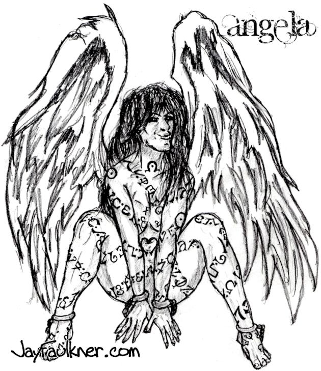 #2 Angela, the Guardian Angel- Jay Faulkner