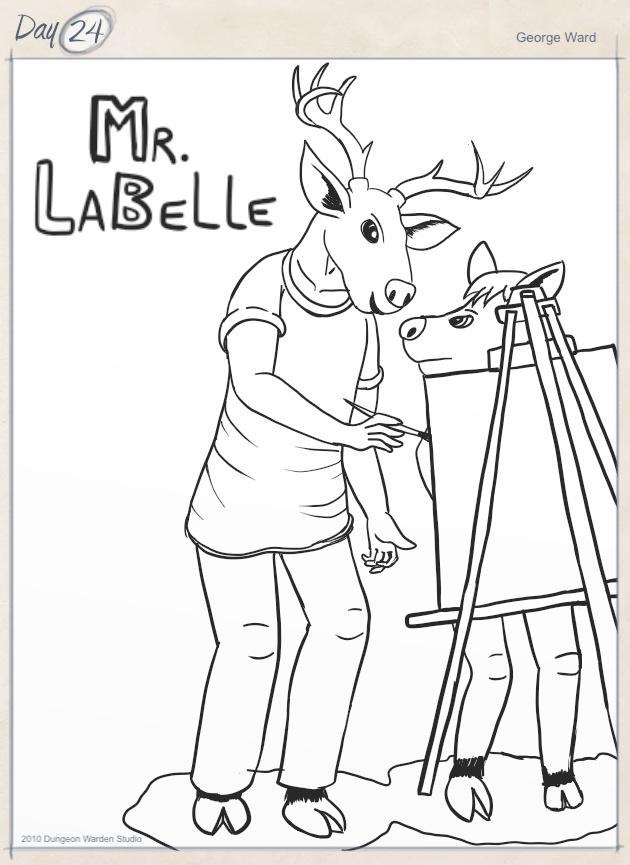 Day 24 - Mr LaBelle