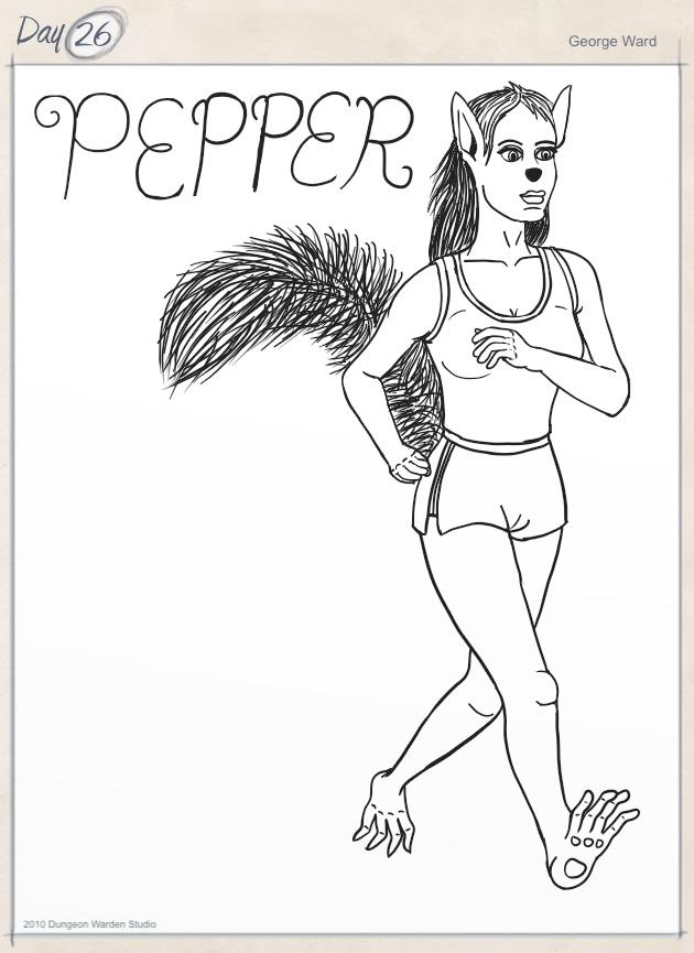 Day 26 - Pepper