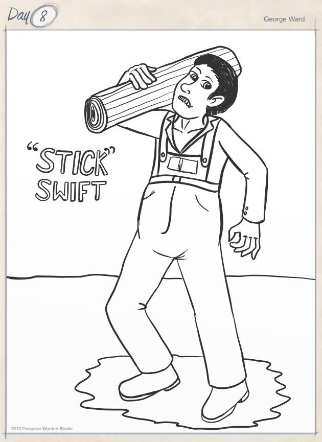 Day 8 - Stick Swift
