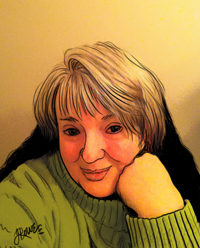 "Jande Rowe, Author of ""Aedre's Firefly"" Online Graphic Novel"