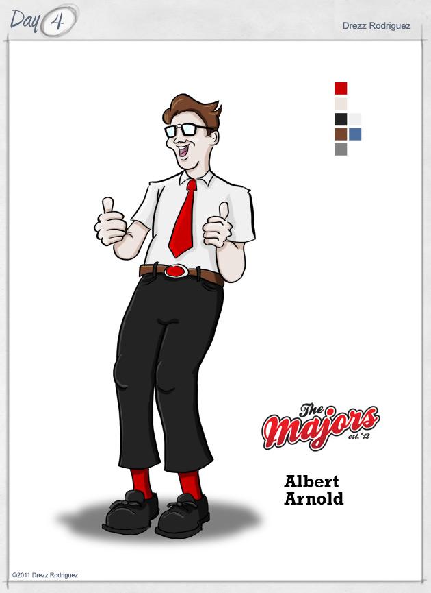 Albert Arnold - The Majors