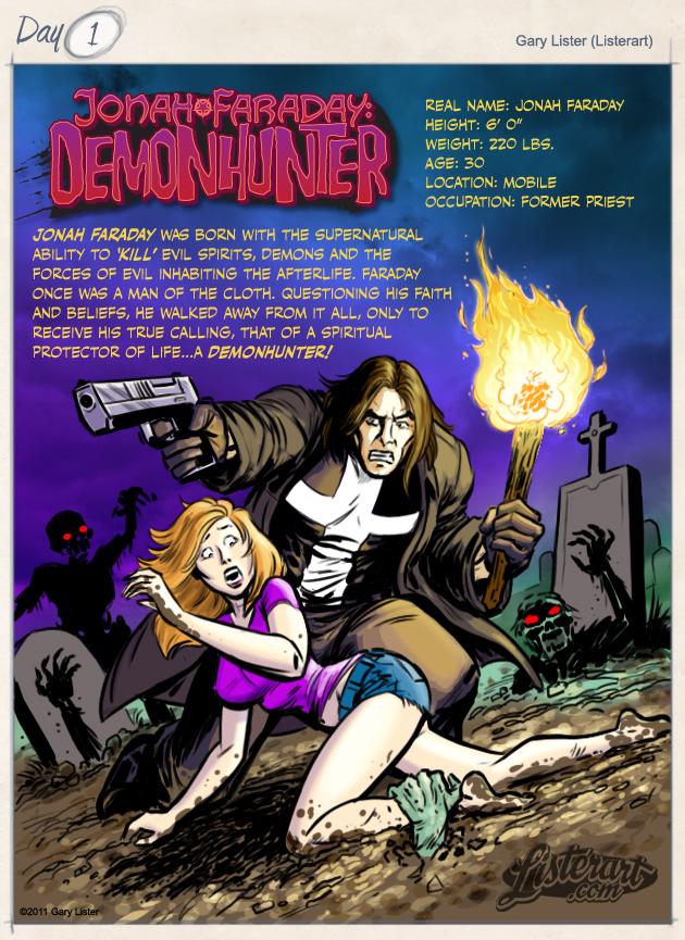 Jonah Faraday - Demonhunter