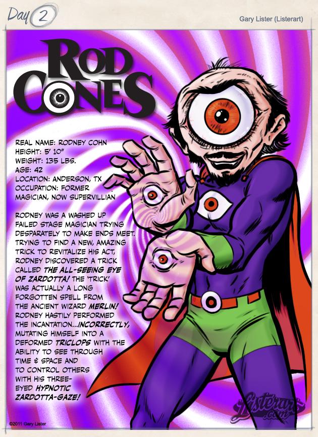 2-Rod Cones