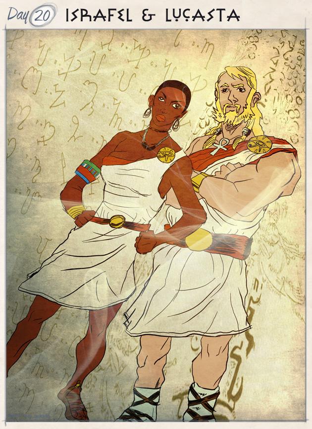 Israfel & Lucasta
