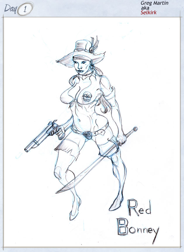 Red Bonney -reaver of the sea