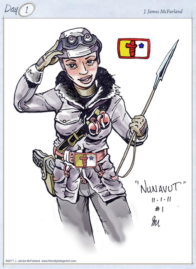 Inuit Hot Hunter