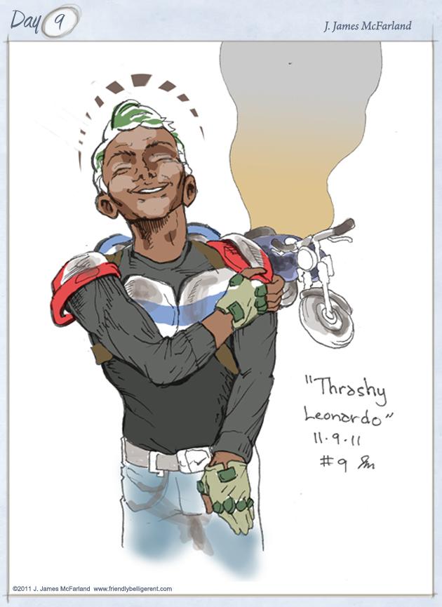 Reckless Junk Biker