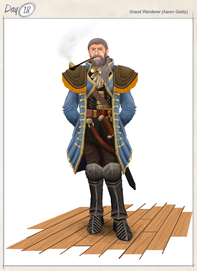 """""""Captain of the Cumulus Corsair"""""""