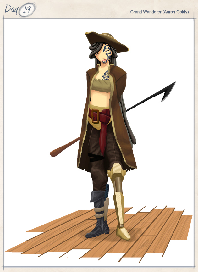 """""""First Mate of the Cumulus Corsair"""""""