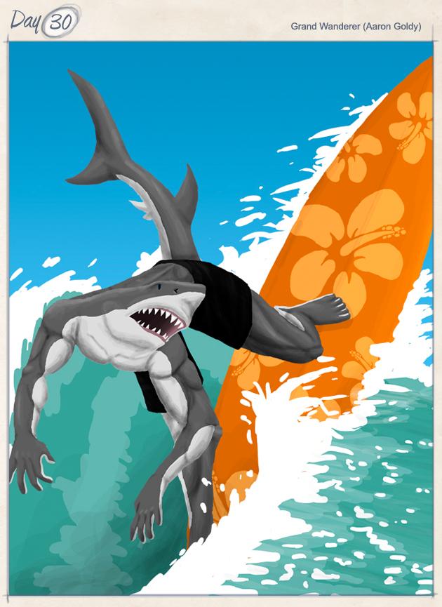 """Shredding Shark"""