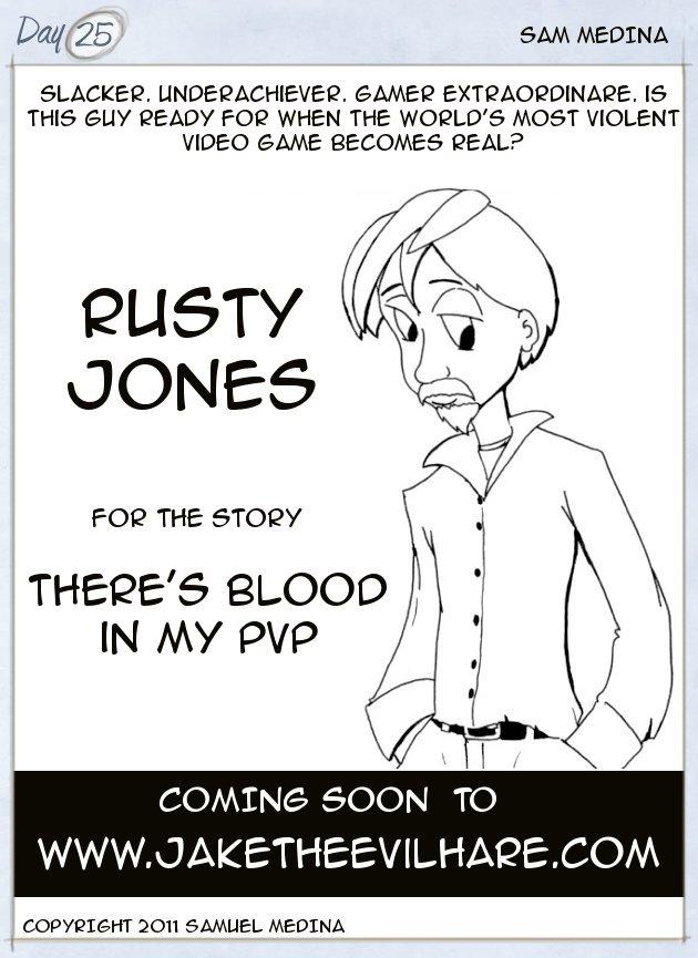 Rusty Jones, gamer extraordinaire
