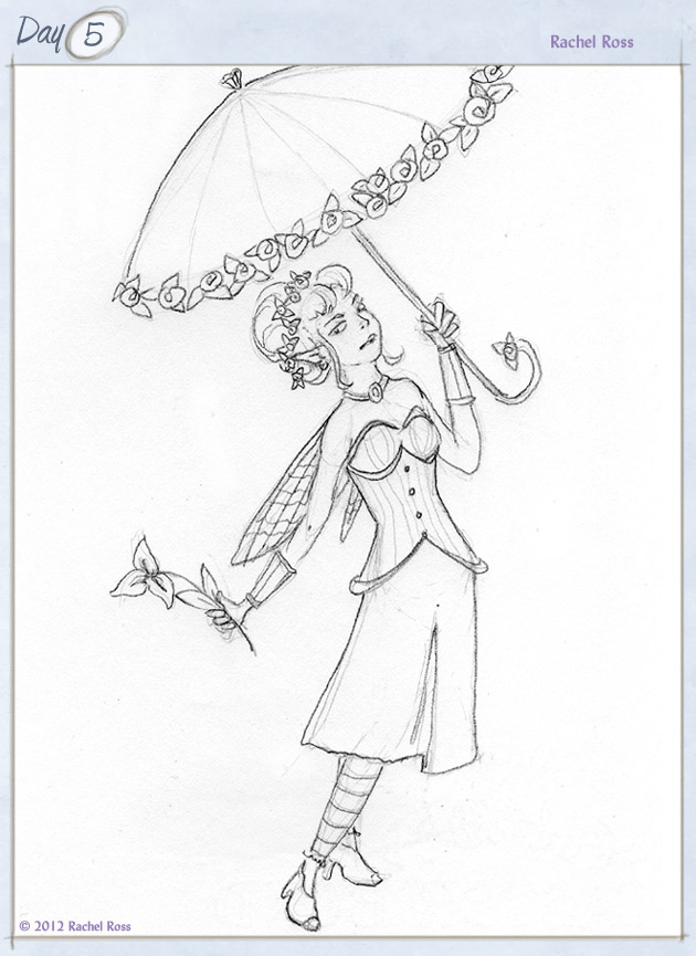 Avanelle Avens and her Parasol