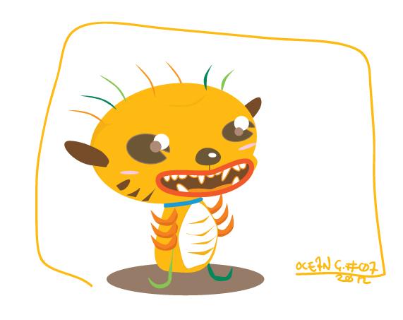 Tiger-flea