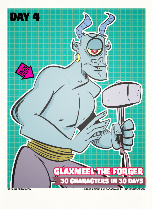 Glaxmeel the Forger