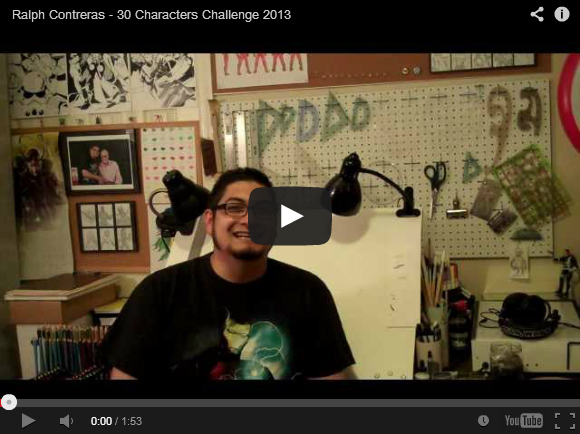 Ralph-Contreras-30-Characters-2013-Intro-Video
