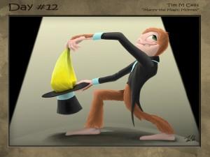#12 Manny the Magic Monkey