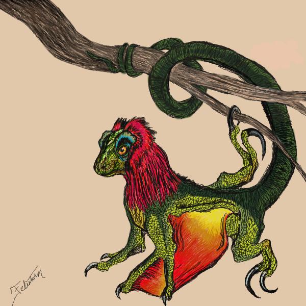 Fire Lizard